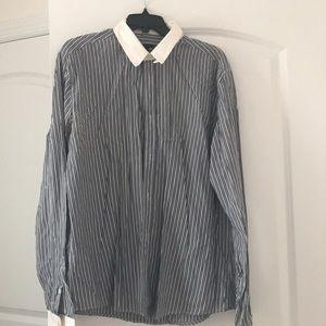 Striped Moschino button down shirt